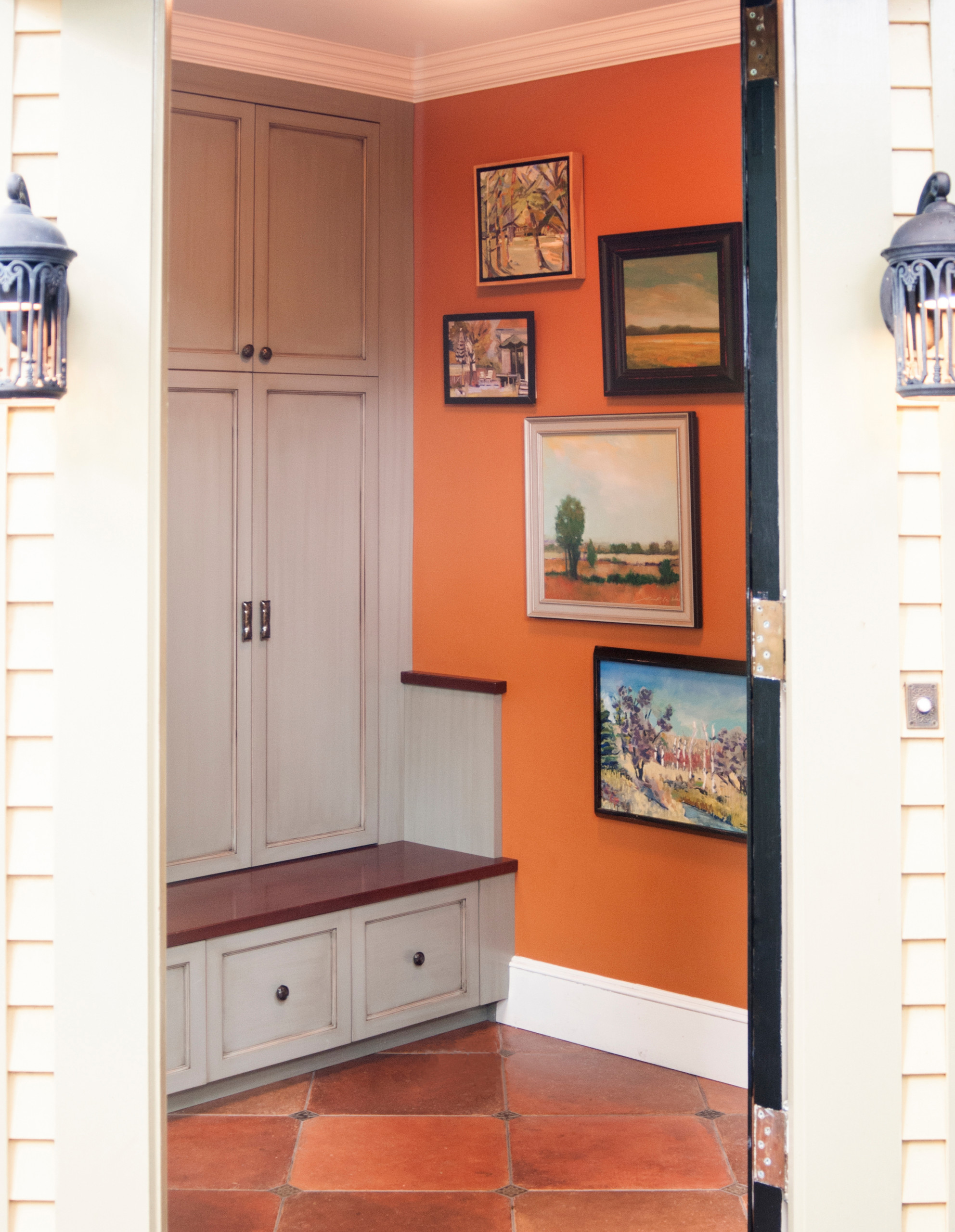 Queen Anne Mudroom