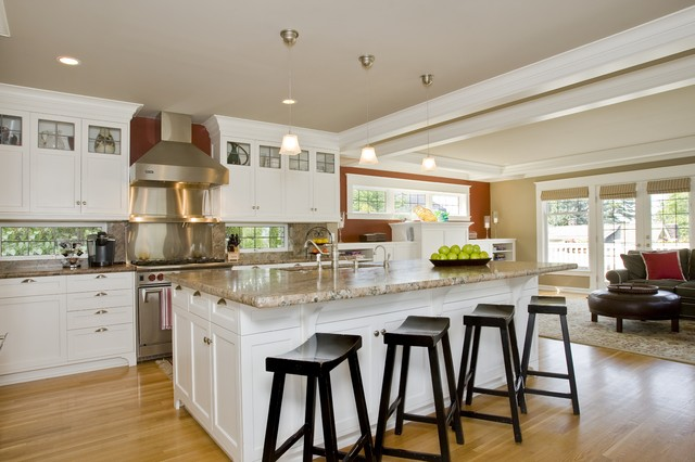 Queen Anne remodel kitchen - Traditional - Kitchen - seattle - by Goforth Gill Architects