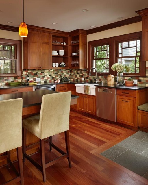Queen Anne Residence traditional-kitchen