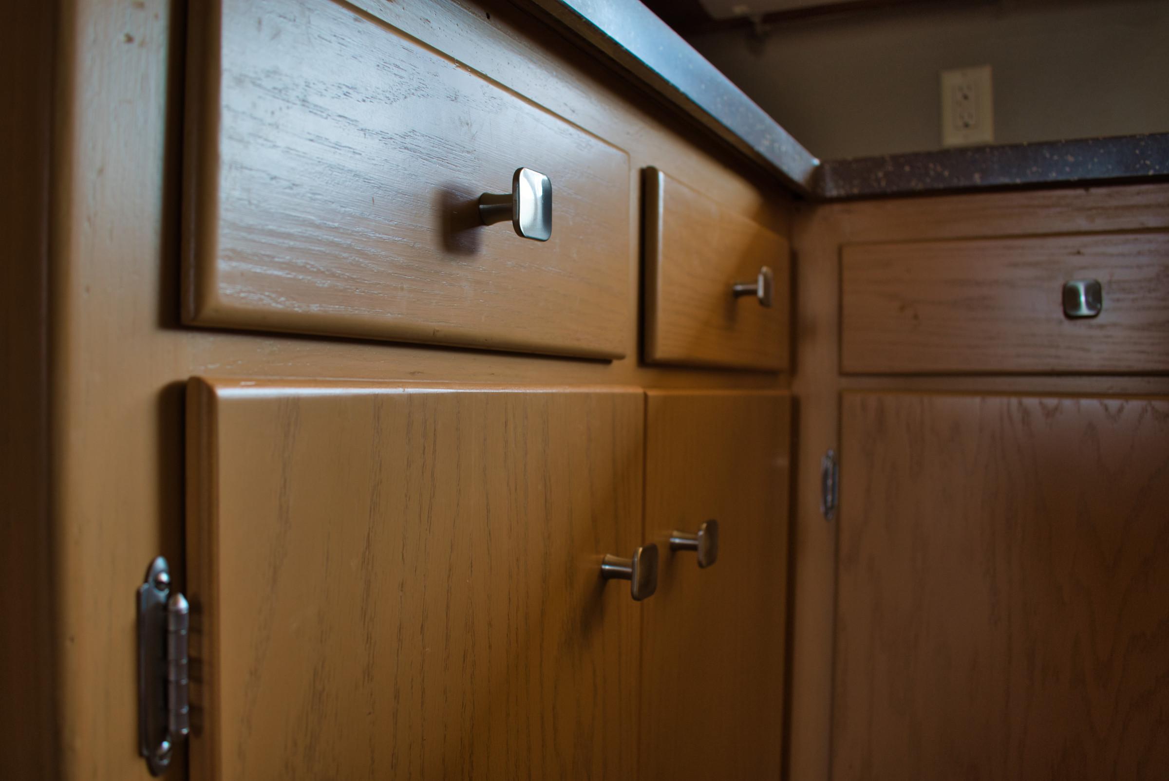 Queens Way Kitchen Remodel - Cabinet Hardware