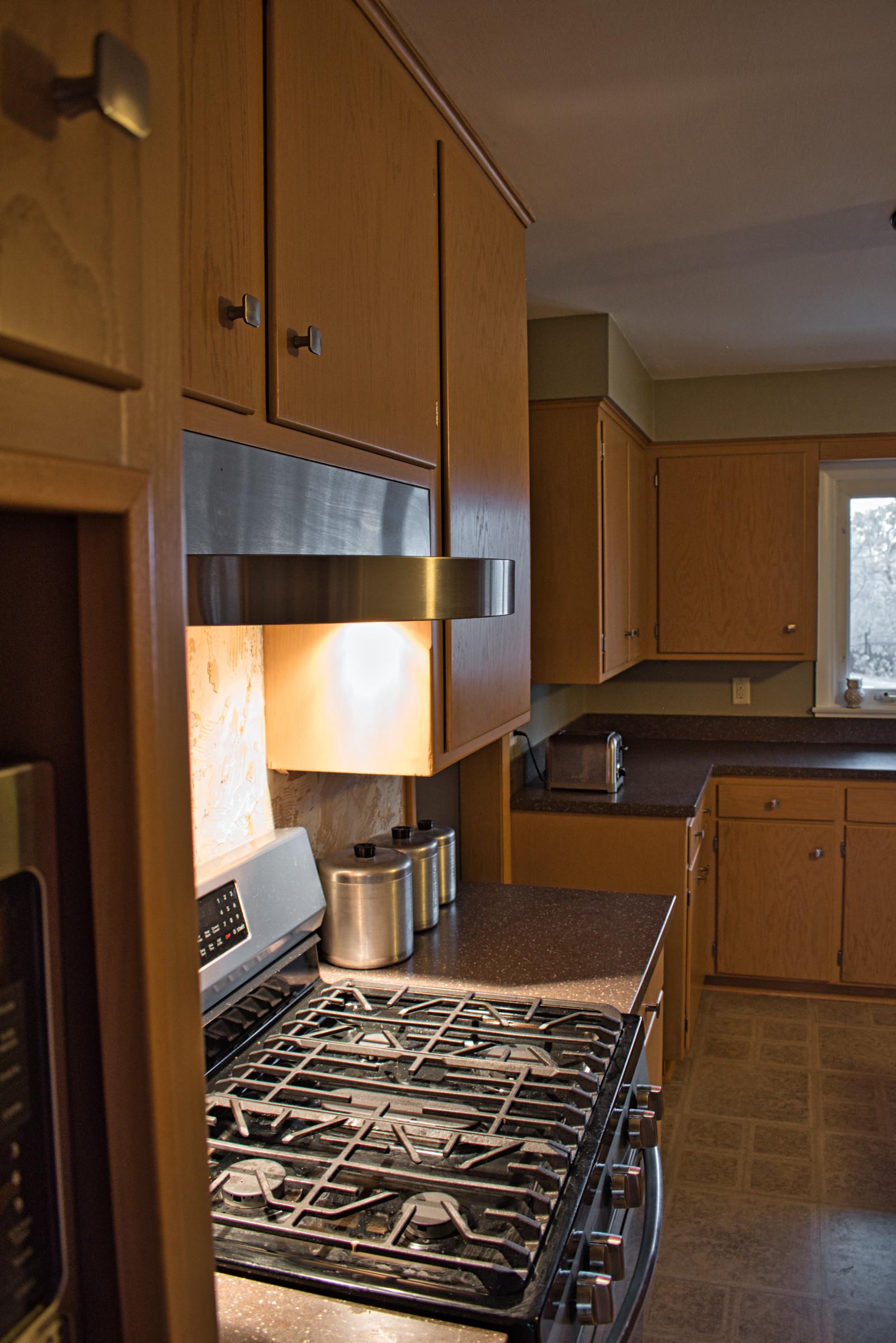 Queens Way Kitchen Remodel - Range Space
