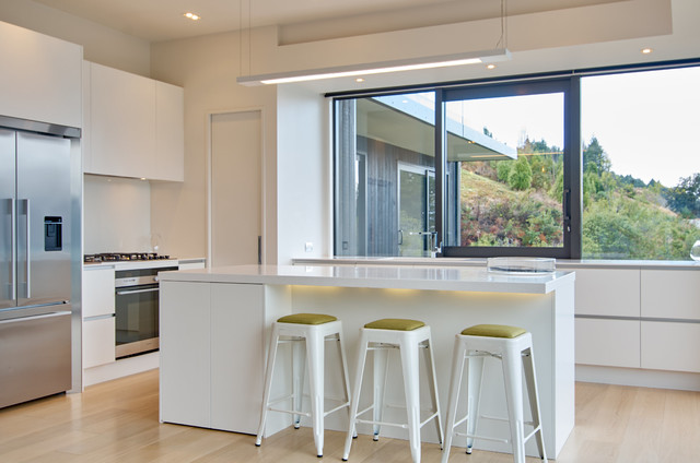 Queenstown Luxury House Photography For Website Contemporary Kitchen Dunedin By Robin