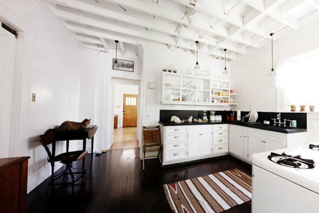 Quick Kitchen Remodel under $400 eclectic-kitchen
