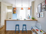 A 13-by-9-Foot London Kitchen Packs In the Storage (13 photos)