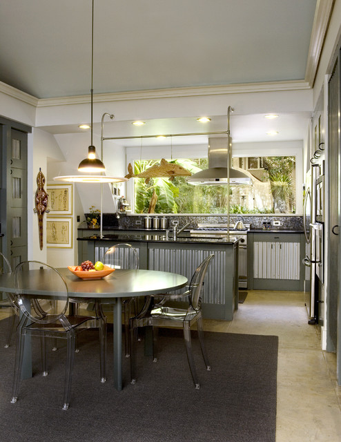 Quonset Hut Kitchen Industrial Other Metro