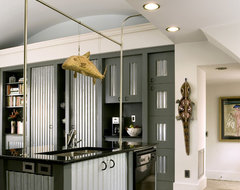 Quonset Hut Kitchen contemporary kitchen