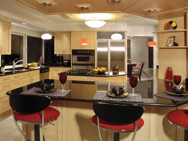 Rad bachelor pad contemporary kitchen other by for Bachelor pad kitchen ideas