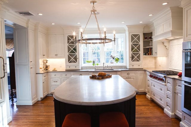 Rae Design Group Traditional Kitchen Newark By Pennville Custom Cabinetry