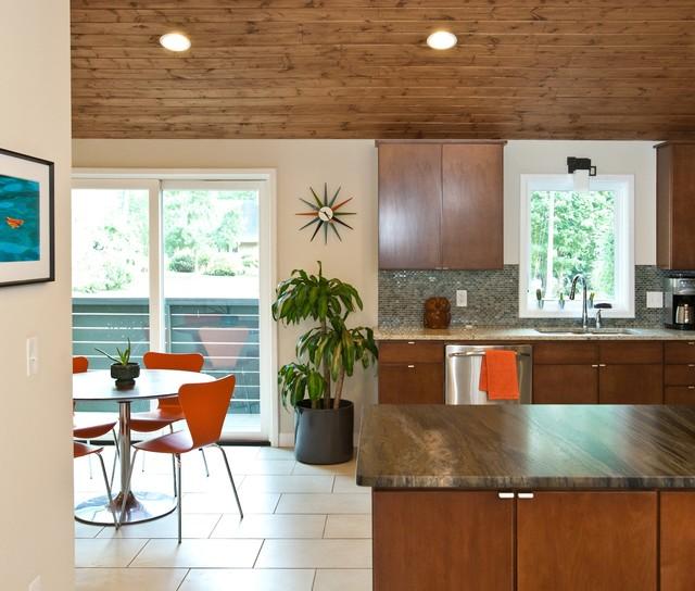 Ragley Hall Residence - Mid Century Modern midcentury-kitchen