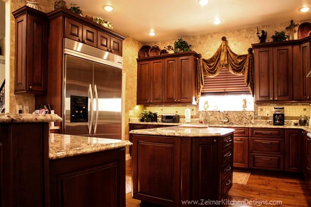 Rainey cabico zelmar home remodel traditional for Zelmar kitchen designs