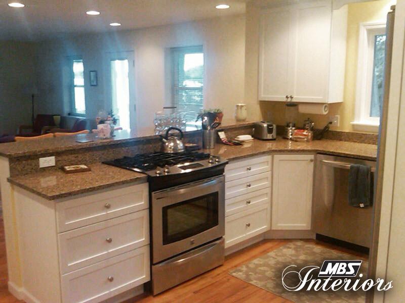 Raised Peninsula Kitchen - Traditional - Kitchen - Other ...