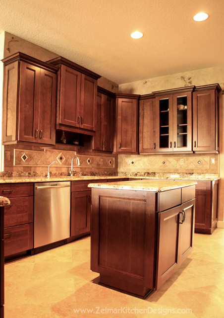 Raj Waypoint Zelmar Kitchen Remodel Traditional Kitchen Orlando By Zelmar Kitchen