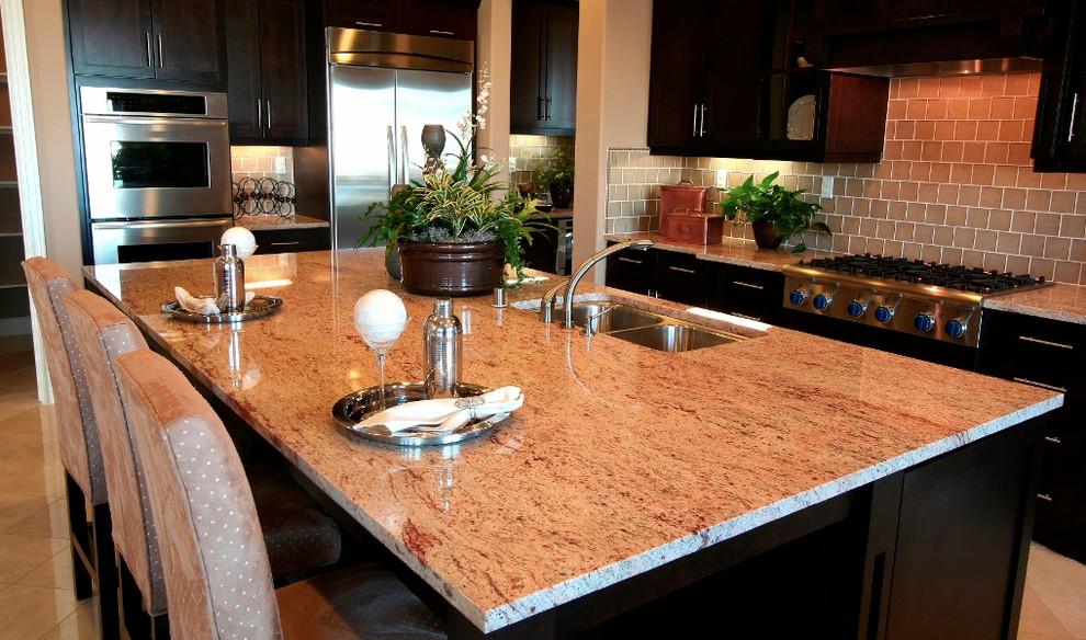 Raja Pink Granite Countertops