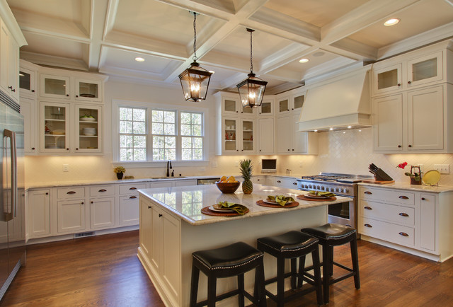 Raleigh Custom Home by Otrada L.L.C. traditional-kitchen