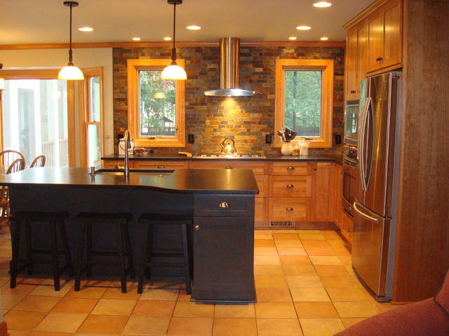 Raleigh Kitchen Remodel Slate Contemporary Traditional Kitchen Raleigh By Rebekah Frye