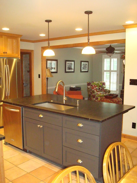 raleigh kitchen remodel - slate, contemporary contemporary-kitchen