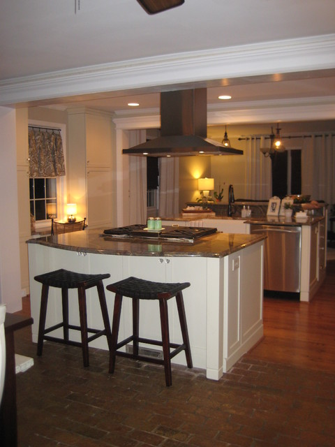 Raleigh kitchen remodel transitional white transitional kitchen raleigh by rebekah frye Kitchen design center raleigh nc