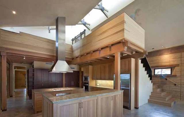 Rammed Earth Ranch Kitchen