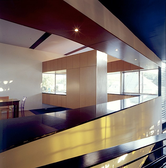Ramp House Contemporary Kitchen