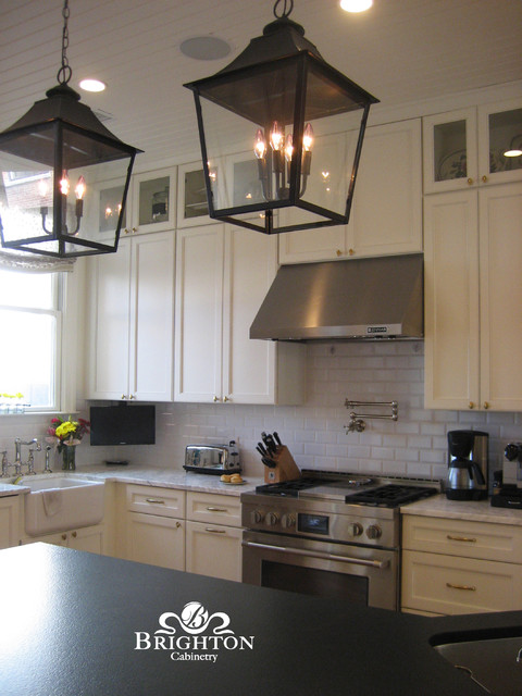 Ramsey door style eclectic kitchen other metro by for Brighton kitchen cabinets