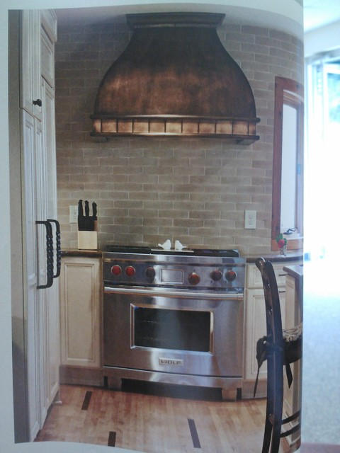 Ramsuer hood - Farmhouse - Range Hoods And Vents - charlotte - by Copper Innovations, Inc