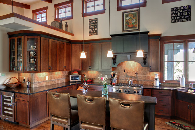 ranch 1 landhausstil k che chicago von helman sechrist architecture. Black Bedroom Furniture Sets. Home Design Ideas
