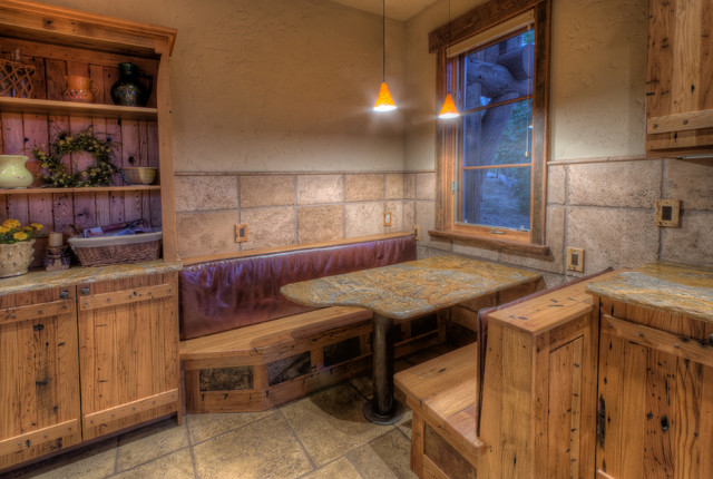 ranch at goldenview rustic-kitchen