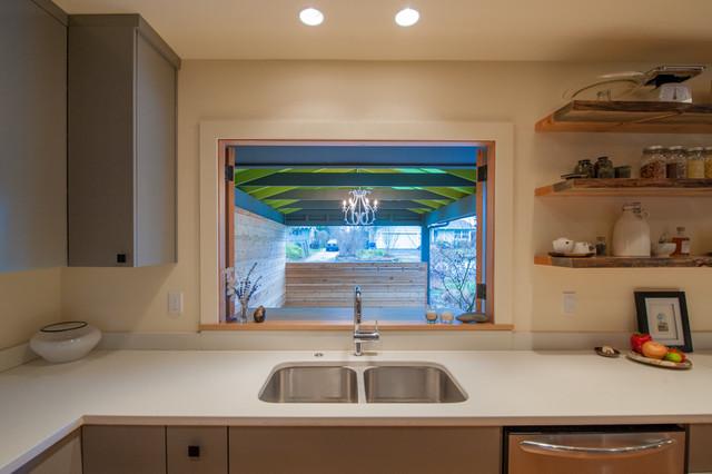 Ranch Conversion Portland Oregon Contemporary Kitchen
