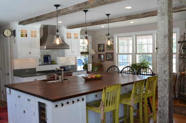Ranch farmhouse kitchen remodel for Kitchen ideas ranch style house