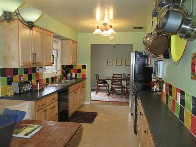 Ranch galley kitchen for Ranch galley kitchen remodel