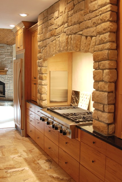 Ranch Home traditional-kitchen