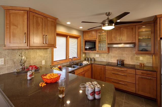 Genial Ranch Home Kitchen Remodel Contemporary Kitchen