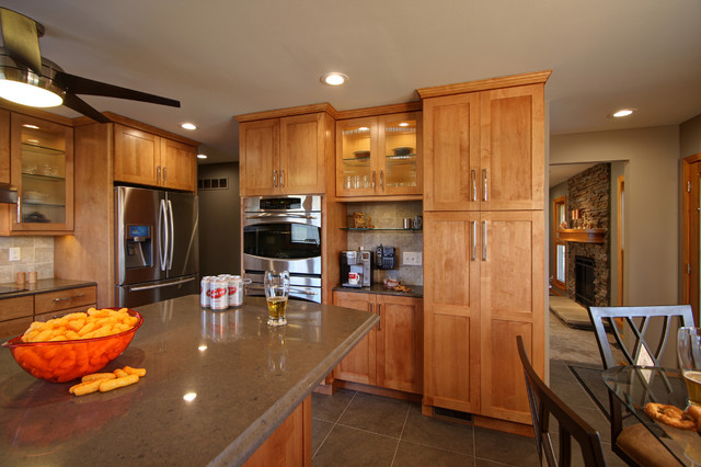 Ranch Home Kitchen Remodel Contemporary Kitchen St