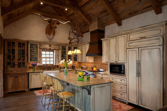 interior designers decorators ranch house rustic kitchen - Ranch Style Interior Design