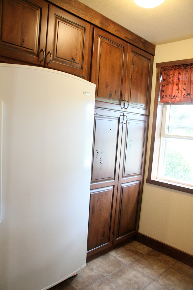 Ranch Makeover In The Midwest Rustic Kitchen Kansas City By Kitchen Bath Trends Of Kansas Llc
