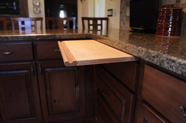Ranch Makeover In The Midwest Rustic Kitchen Kansas
