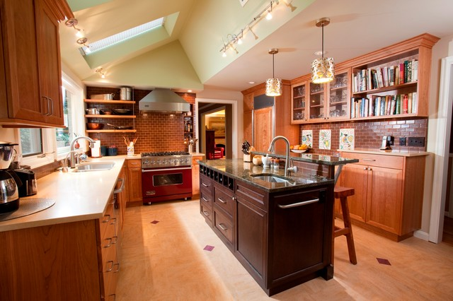 Ranch of Refinement traditional-kitchen