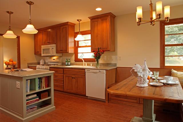 Ranch Rambler Kitchen Remodel - Traditional - Kitchen - Minneapolis ...
