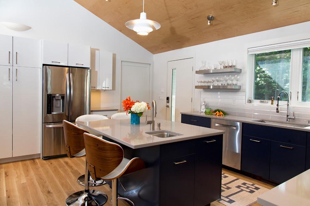 Ranch Renewed - Contemporary - Kitchen - Portland Maine ...