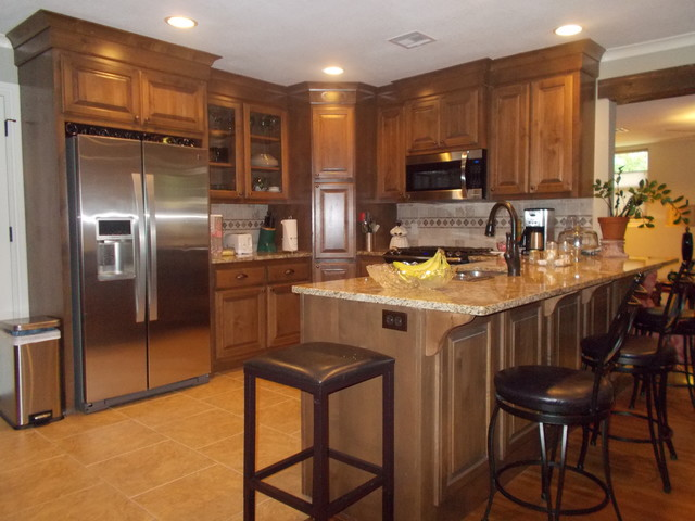 Ranch style traditional kitchen other metro by for Kitchen ideas ranch style house