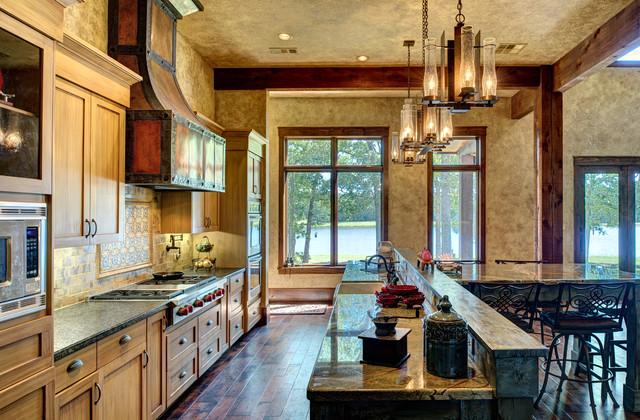 Lofted Barn Cabin Interiors Rustic