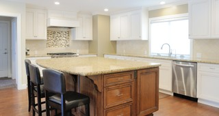 Ranch Style Dressing - Traditional - Kitchen - sacramento - by Morse Remodeling, Inc. and Custom ...