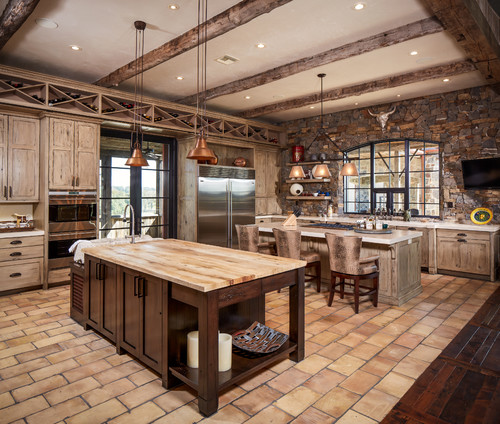 Western Rustic Kitchen Images Home Design And Decor Reviews