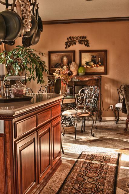 Rancho Carrillo, Carlsbad Remix/Redesign mediterranean-kitchen