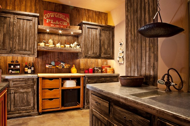 Rancho Ma Ana Cave Creek Az Rustic Kitchen Orange County By Camptin Concept And Design