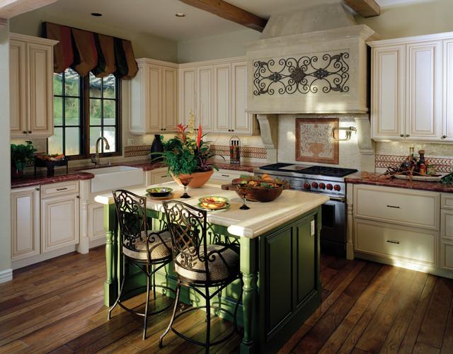 Rancho Mirage Villas mediterranean-kitchen