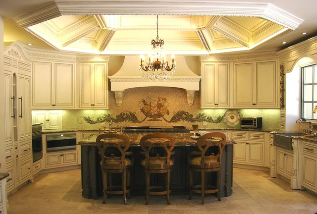 Rancho Santa Fe traditional kitchen