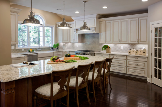 Randolph Ridge Hampton Model Contemporary Kitchen