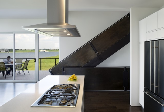 Randy Brown Architects contemporary-kitchen