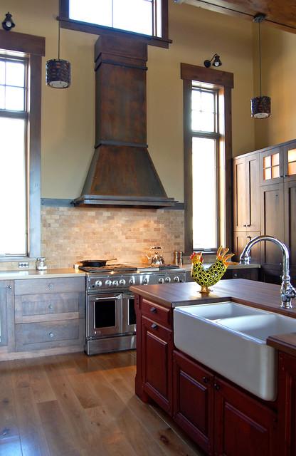 Rustic Range Hoods ~ Range hoods rustic kitchen other by raw urth designs